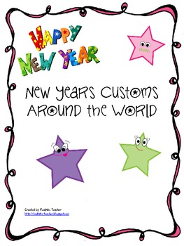 New Years Customs Around the World Research {CCS Aligned 2nd Grade}