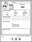 New Years Day Celebration - Editable Word Worksheet w/ The