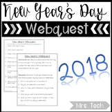 New Years Day Webquest