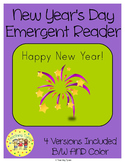New Year's Emergent Reader
