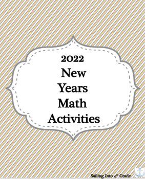 2020 New Years Math Activities