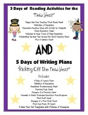 New Year's Day Reading Lessons  &  Writing Lessons
