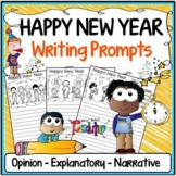 New Year's Day Writing Prompts {Narrative, Informative & Opinion Writing}