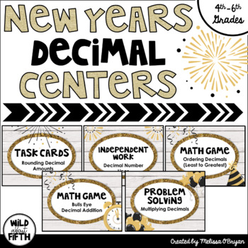 New Years 2017 Decimal Centers Grades 4-6