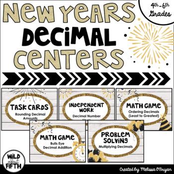 New Years 2018 Decimal Centers Grades 4-6