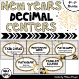 New Years Math Centers Grades 4-6