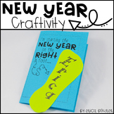 New Year Craftivity - Starting the New Year on the Right Foot