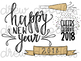 New Years Doodles Digital Clip Art Set