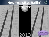 New Years Eve Ballin' Resolutions Interactive Vocabulary Game