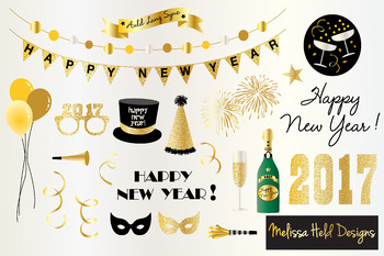 New Years Eve 2018 Clipart