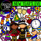 New Years Clipart {Creative Clips Clipart}