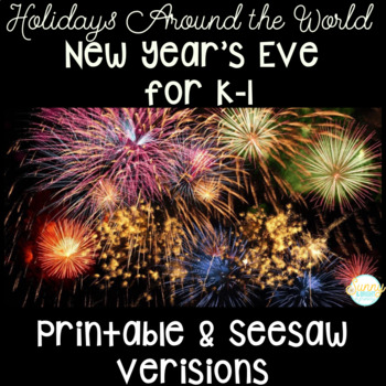 New Year's Eve- Holidays Around the World- Kindergarten &