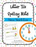 New Year's Eve Letter Tiles Spelling Mat