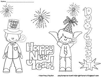 New Year's Eve Mini Pack for Little Learners