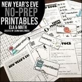 New Year's Eve {No Prep Practice}