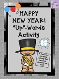 """New Year's Eve/Day """"Up""""-Words Activity"""