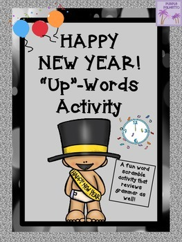 "New Year's Eve/Day ""Up""-Words Activity"