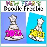 New Years FREE Doodle Freebie