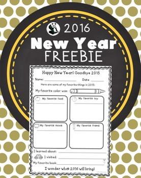 New Year FREEBIE- My Favorites in 2015