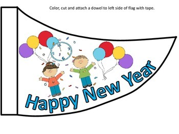 New Years Flag
