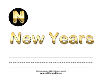 New Years Flashcards