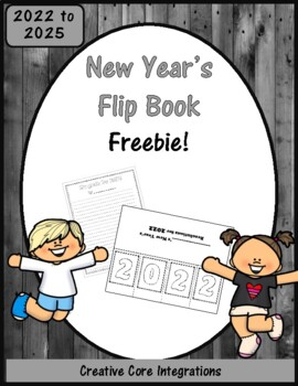 New Year's Flip Book FREEBIE!