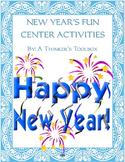 New Year's Fun - Center Activities