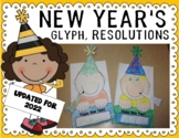 New Years 2018 Glyph and Resolutions Printables