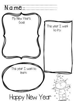 New Year's Goal Planning Freebie