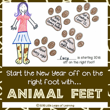 New Year's Goal Setting Activity: Start the year off on the right foot!