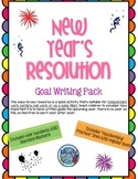 New Year's Goal Writing Pack