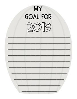 New Years Goals 2018-2021 Cactus Banner
