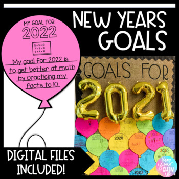 New Years 2018: Goals Activity