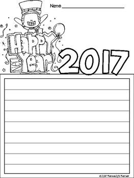 New Year's Goals ~ FREEBIE ~