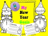 New Years Goals 2018- Free Writing Activity Printable