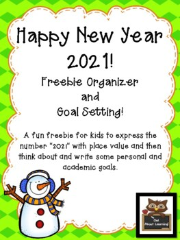 New Years Goals Freebie