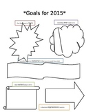 2015 New Year's Goals/ Resolutions