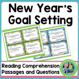 New Year's Activites 2019: Goals (Task Cards)