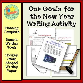New Year's Writing Freebie