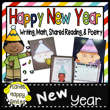 New Year's Goals/Resolutions Activities ~ Writing, Poetry and Math