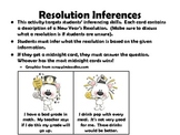 New Year's Inferences & Idioms