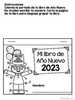 New Year's Interactive Flipbook {SPANISH}