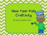 New Years Kid Craftivity
