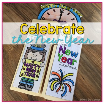 New Years Lapbook { with 12 foldables! } New Year's Resolution