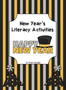 New Year's Literacy Activities