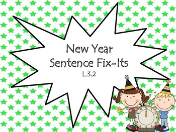 New Year's Literacy Centers