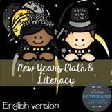 New Year Math & Literacy
