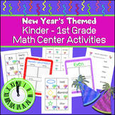 New Years Math (Numbers 1 to 50, Shapes and More)