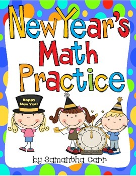 New Year's Math Practice for 4th Grade!