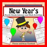 New Year's Math and Literacy Activities Fourth Grade Common Core